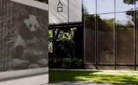 成像混凝土 可爱熊猫