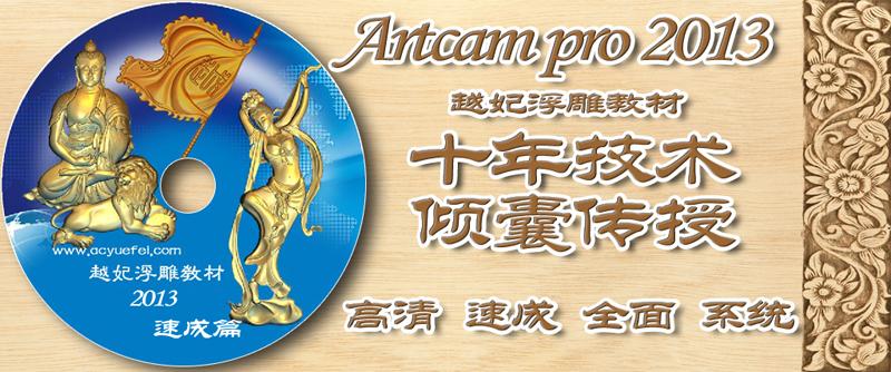 Artcam pro 2013最新速成教材64讲高清视频