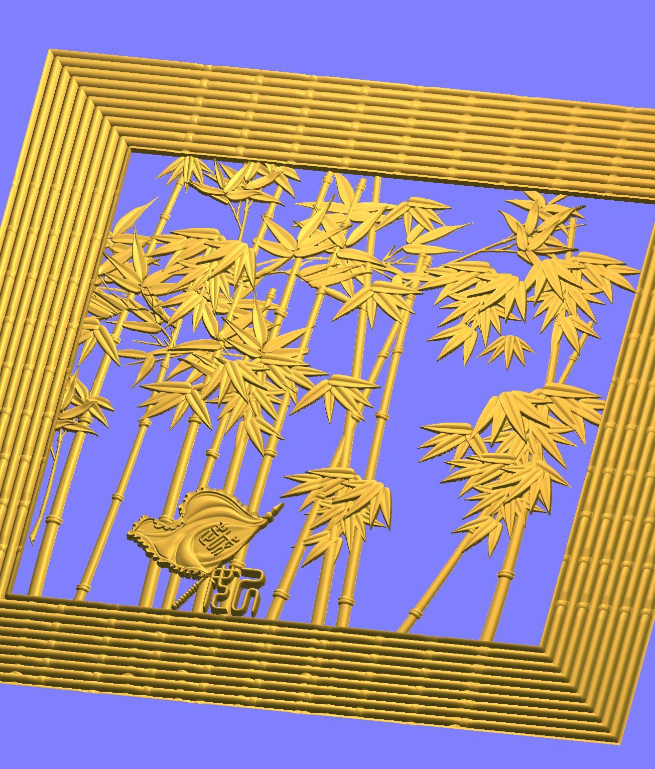 花卉浮雕图
