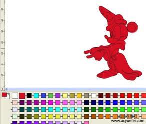 artcam颜色链接法
