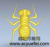 artcam浮雕案例之矢量创建浮雕——小蜜蜂