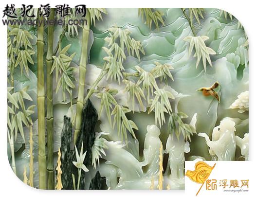 雕刻玉石常用题材:竹_玉雕图案竹子